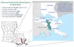 Louisiana Map Of Parishes by Defying Expectations Jefferson Parish Public Schools Pe Co