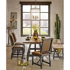cheyenne extended gathering dining table industrial wood dining categories
