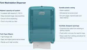 dispense haccp tork washstation dispenser talktork