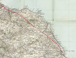 Road Map Of Scotland Old Roads Of Scotland