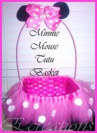 minnie mouse easter basket ideas easy diy tutu easter basket diy tutu easter baskets and tutu