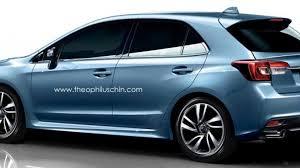 subaru hatchback 2014 subaru levorg hatchback render is an attractive impreza alternative