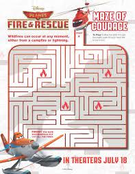 image planes fire rescue maze courage samoloty 2 plakat
