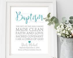 catholic baptism gifts baptism print etsy