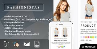 fashion u0026 ecommerce responsive email with mailchimp editor