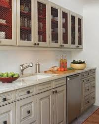 Rustic Painted Kitchen Cabinets by Best 25 Chicken Wire Cabinets Ideas On Pinterest Farmhouse