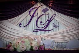wedding backdrop name joyce wedding service and wedding on june 14 2014