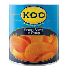 koo peaches slices 1 x 3 06kg lowest prices u0026 specials online