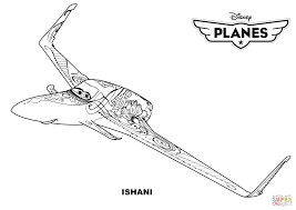 disney planes ishani coloring free printable coloring pages