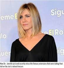 what is the formula to get jennifer anistons hair color jennifer aniston comes clean about hair loss from extensions