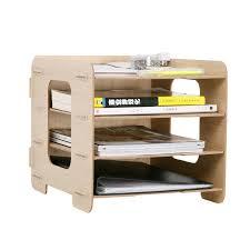 diy bureau diy wood made desk organizer office supplies desk