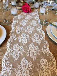 ivory lace table runner amazing vintage inspired ivory lace table runner crochet and lace