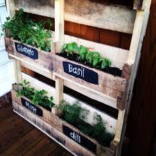 diy pallet herb garden u2014 love u0026 honey wedding consultant clever