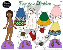 printable paper dolls marisole monday full color printable paper doll