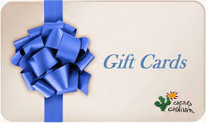 purchase gift card cactus cantina gift card store