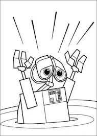 walle coloring pages wall e and cool robots coloring pages pinterest robot