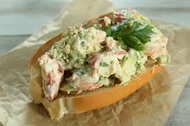 avocado u0026 cilantro lobster rolls