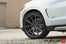matte bmw x5 vossen vfs1 wheels on 2015 bmw x5 sdrive35i m sport 18
