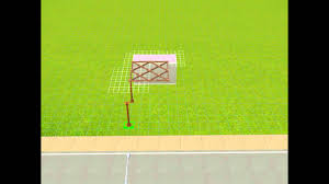 sims 3 how to make a trellis w commentary 1080p youtube