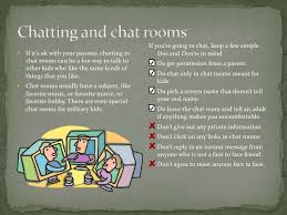 Staying Safe Online For Kids - Chat rooms for kids only