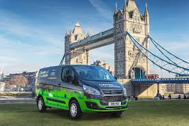 ford begins testing transit plug in hybrids in london ahead of