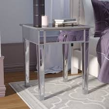 glam nightstands you u0027ll love wayfair