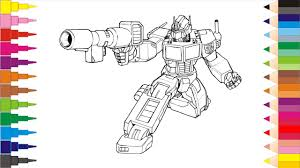 coloring pages transformers coloring book videos for children