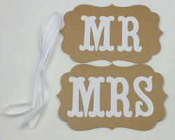 mr and mrs sign for wedding online shop personalized name 1 set vintage style mr mrs sign