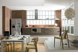 idee ouverture cuisine sur salon cuisine ouverte salon petit espace avec superbe amenagement