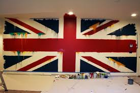 blog studio cultivate the beatles union jack painted wall mural