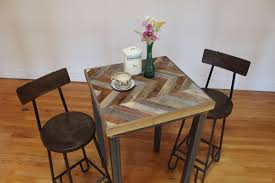 reclaimed wood pub table sets handmade rustic reclaimed sustainably harvested wood pub kitchen