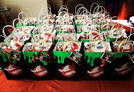 ghostbuster birthday party good bags u2026 pinteres u2026
