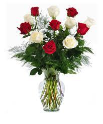 one dozen roses 12 one dozen wonderful white stemmed roses delivered same