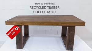 How To Build End Table Plans by Easy Diy Modern Coffee Table Using Reclaimed Wood And Basic