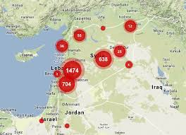 targeting sites of attack in syria musings on maps