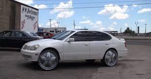lexus nx memphis someone put this gs400 on 26