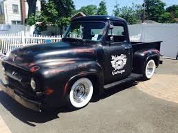 1953 ford pickup f100 ratrod shop truck slammed rod for sale