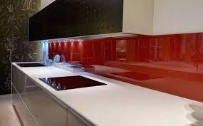 credence en verre trempé pour cuisine credence en verre trempe pour cuisine daccoupe et installation de