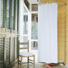 Simple Outdoor Showers - bathroom ideas simple outdoor shower room enclosures with round