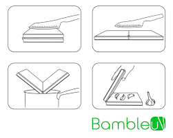 Stylish Design Bambleu A Fold Out Cutting Board With Outstanding And Stylish Design