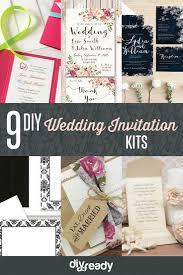wedding invitation kits custom wedding invitation kits diy projects craft ideas how to s