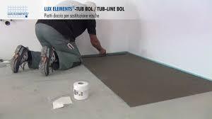montaggio vasca da bagno montaggio elements piatti doccia a filo pavimento tub bol in