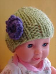 fiber flux free knitting pattern baby doll hats