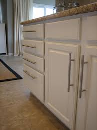 another example of updated stock oak kitchen cabinets with new