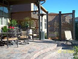 Patio Privacy Screen Ideas Delightful Design Backyard Privacy Screen Sweet Privacy Crafts Home