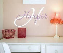Vinyl Wall Decals For Nursery Lovely Ideas Personalized Name Wall Decor Design Decals