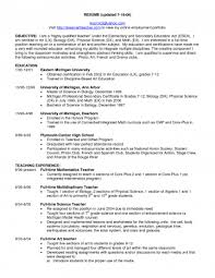 substitute resume exle education resume sles template career objective for preschool