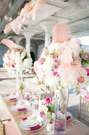 candelabra lavender tall fresh flower for white hydrangea wedding