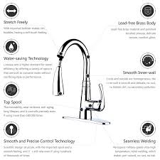 american standard kitchen faucet parts diagram l u0027acoqua single handle pull down sprayer kitchen sink faucet