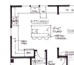 standard depth of kitchen island kitchen amazing